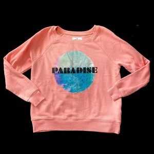 American Eagle Outfitters Paradise Sweatshirt/Top